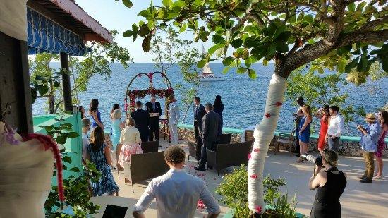 Xtabi Resort: Cliff Side Wedding