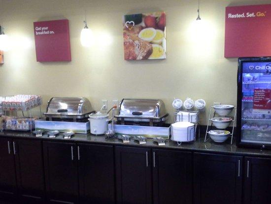 Kingsport, TN: Frühstücksbuffet