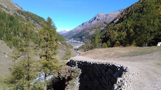 Valgrisenche, Italia: Vista dall'alto