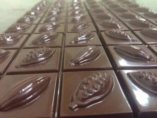 Etterbeek, Belgia: Miam miam... du bon chocolat :-)