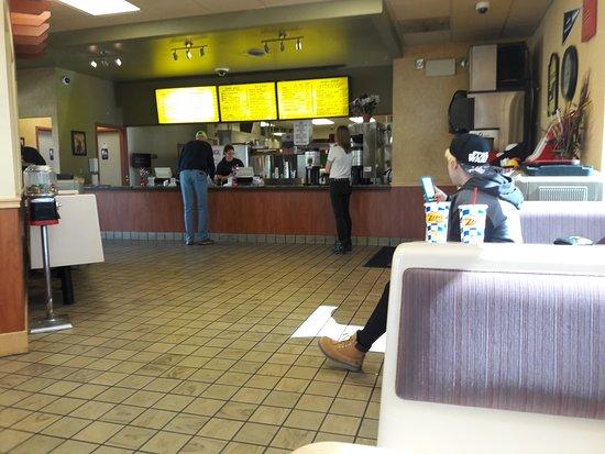 Colville, Waszyngton: dining room