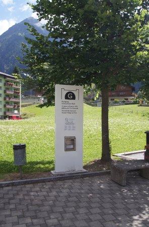 Goschenen, Sveits: Dispenser mit Booklet (gratis)