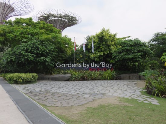 entrance to gardens by the bay