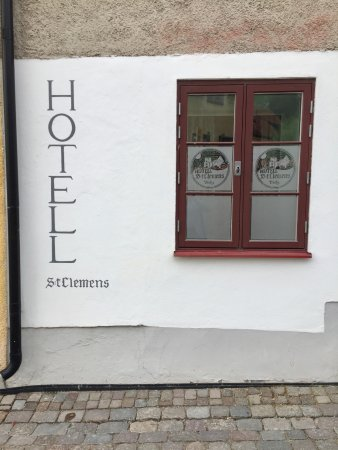Hotel St. Clemens: St Clemens hotel, Visby - exterior.