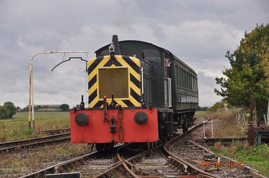 Burnham-on-Crouch, UK: class 04 heads train back to the station