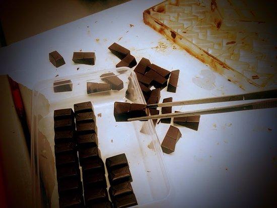 Dwingeloo, เนเธอร์แลนด์: Huisgegoten bonbons