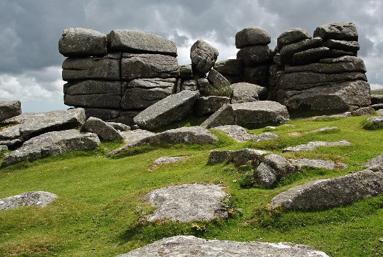 Dartmoor National Park, UK: Combestone Tor