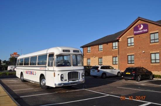 Canvey Island, UK: Our transport to the event dates from 1969