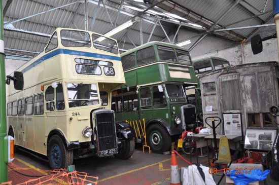 Canvey Island, UK: Inside the transport museum