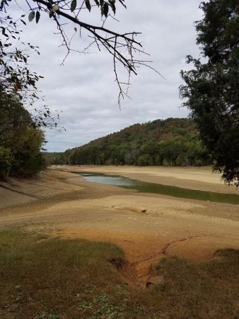 Panther Creek State Park: Low Lake Level