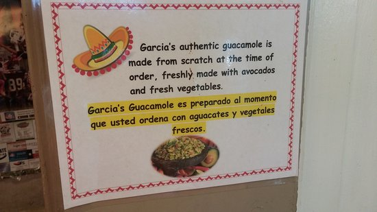 Sherman, TX: Fresh made guacamole!!