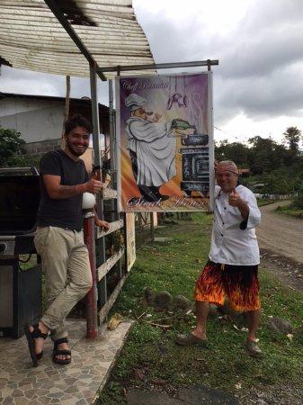 El Castillo, Costa Rica: How cool is this guy?