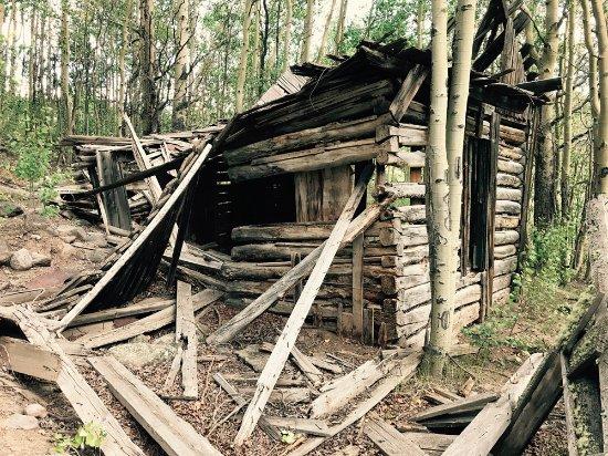 Cabin remains in Bachelor, Colorado - Near Creede, CO