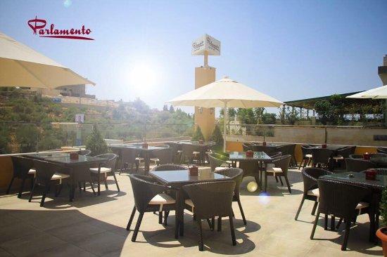 Gobernación de Ammán, Jordania: Parlamento Restaurant and Cafe