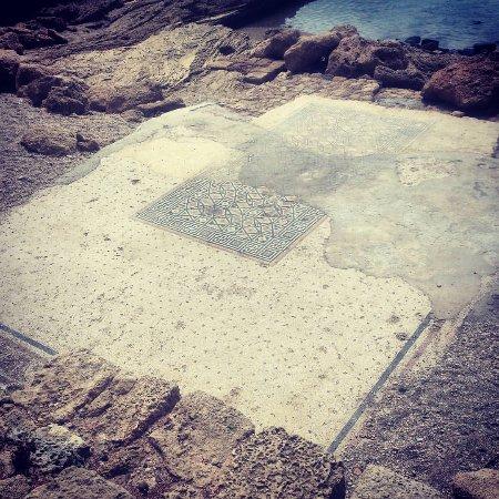 Caesarea National Park: Мозаичный пол дворца Ирода