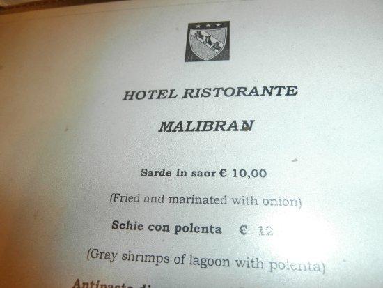Hotel Malibran: ,,Visitando la Venezia,,