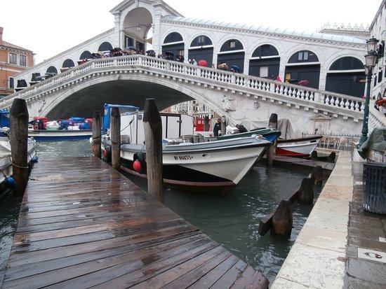 Hotel Malibran: ,,visitando la Venezia...,