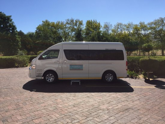 Somerset West, South Africa: Cape Adventure Trips taking care of your transport needs