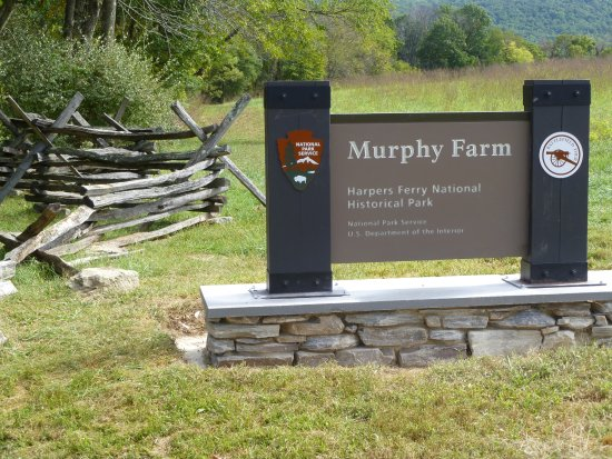 Harpers Ferry, Virginia Barat: The entrance to the Murphy/Chambers Trail.
