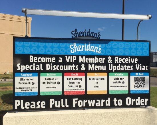 Cordova, TN: Sheridan's Frozen Custard