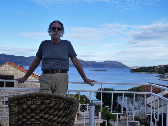 Лумбарда, Хорватия: Me enjoying the terrace attached to our room