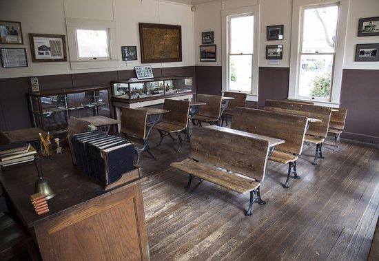 Pioneer Museum Complex: School room