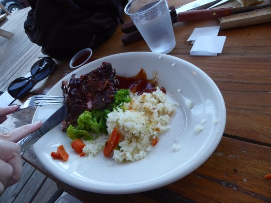 La Pine, OR: Ribs and Veges