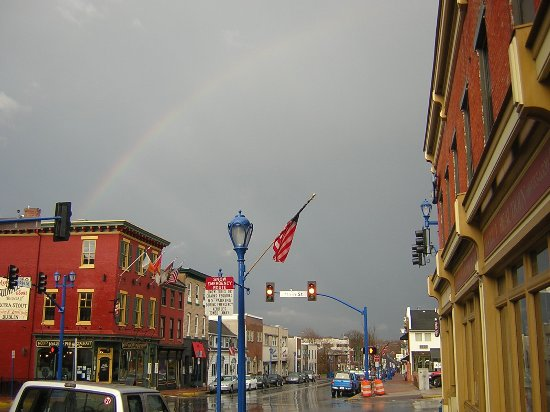 Phoenixville, Πενσυλβάνια: Molly's end of the rainbow