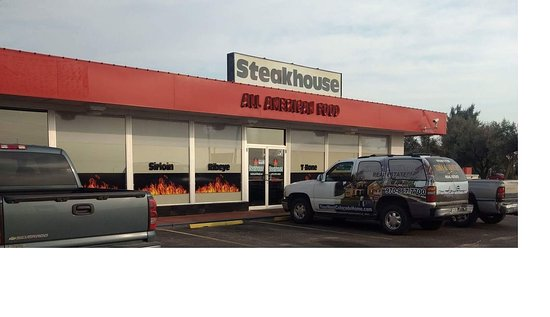 Fort Morgan, CO: The Flame Steakhouse exit 75 on I-76.