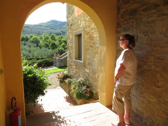 Casa Portagioia - Tuscany Bed and Breakfast: As I sit here in the cold weather, I think back to the wonderful time we had at Casa Portagioia