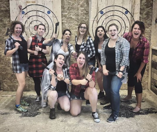 Bad Axe Throwing in Surrey, BC