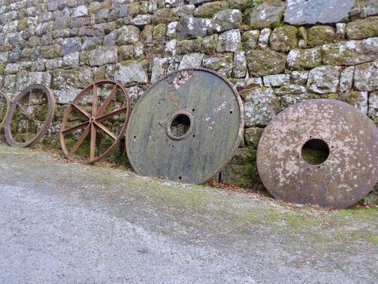 St Austell, UK: wheel display