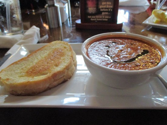 "Mifflinburg, PA: Smoky Tomato Bisque and ""mini"" Havarti Sandwich"