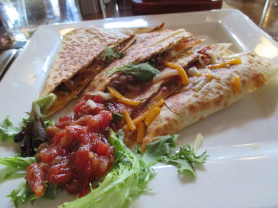 Mifflinburg, PA: Smoky Pork Quesadillas