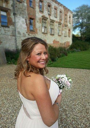 Farnham, UK: castle wedding