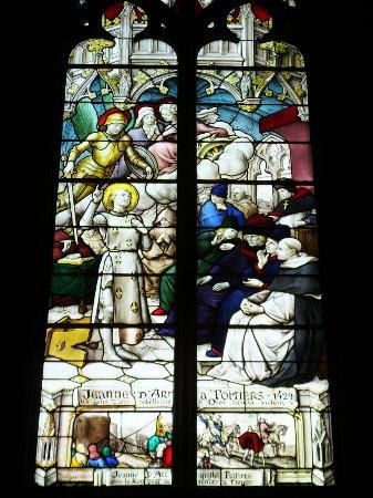Église de Notre-Dame la Grande : Joan visits Poitiers 1429