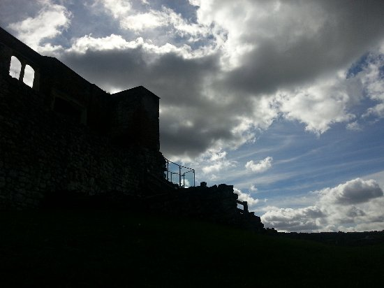Farnham, UK: castle and clouds