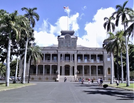 Aston at the Executive Centre Hotel: Iolani Palace -- just minutes away by foot