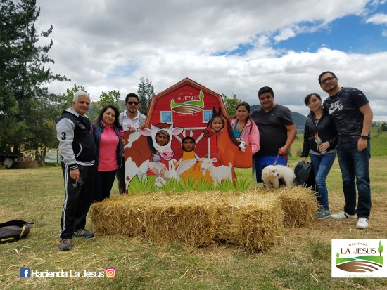 Cayambe, Ecuador: Take a picture with your family :-)