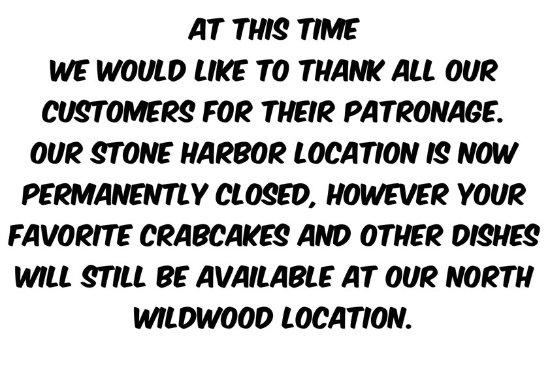 Stone Harbor, NJ: Closed