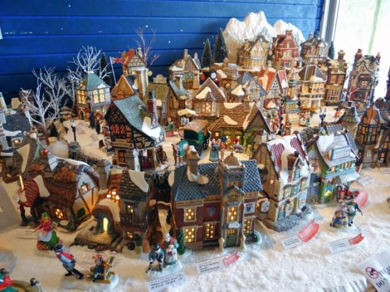 How To Store Christmas Village Houses.Christmas Houses Village Picture Of The Christmas Store