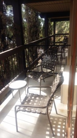 Oakhurst, Kalifornia: Balcon