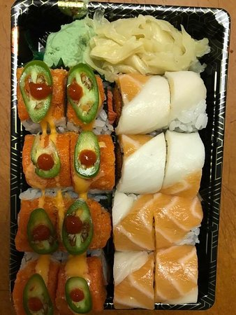 Noblesville, IN: Fresh sushi, delicious hibachi, yummy!