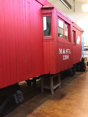 Hill City, Dakota del Sur: The Red Caboose And It's Story