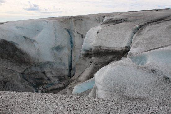 Хофн, Исландия: On the Glacier