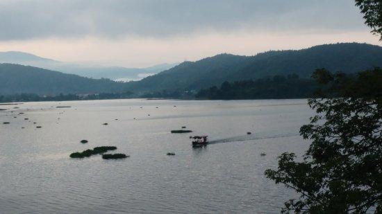 Dak Lak Province, Vietnam: Tented camp at lak lake