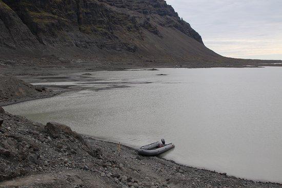 Хофн, Исландия: Zodiac we were on