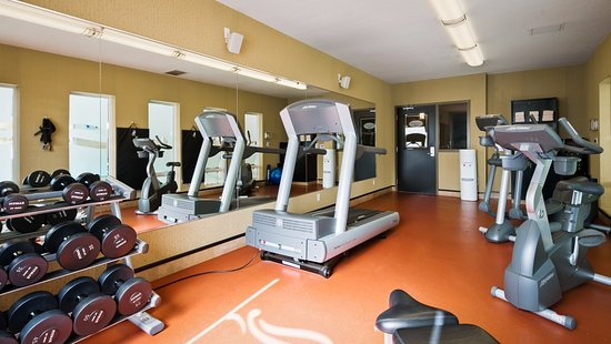 St. Albert, Kanada: There is no need to take a break from your regular fitness routine during your stay with us.