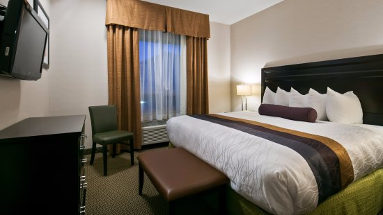 St. Albert, Kanada: Sink into our comfortable beds each night and wake up feeling completely refreshed.