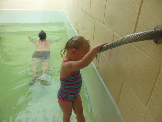 Tokaanu, Nieuw-Zeeland: Private pool.